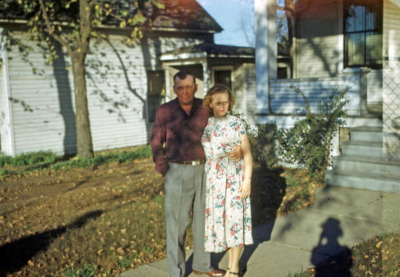 Dec 1949 - Agnes & Ed Kinder