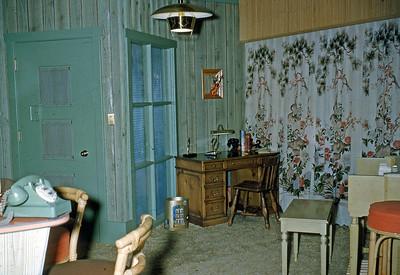 """April 1955 """"After"""" - Front Door"""