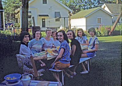 Aug 1950 - Elaine's party