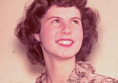 June 1950 - Elaine Adkins Minne Lusa Graduation