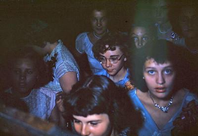 June 8, 1950 - Elaine's graduation banquet