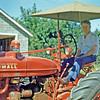 Aug 1948 - Max on Stan's farm