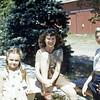 1948 - Barbara Diehl, Elaine & Norma Diehl - 2nd cousins