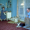Jan 1950 - Tonch and Roy in their front room