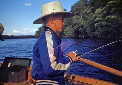 June 1950 - Stve on Ottertail R. Minn