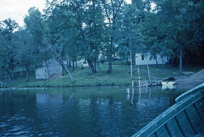 July 1952 - Our cabin at Riverside Camp - Schmidt's Bridge Minn