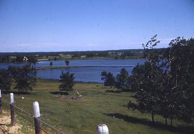 June 1950 - View of Minn. near Heillberger Lake