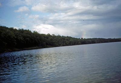 June 1950 - Rainbow on Ottertail River