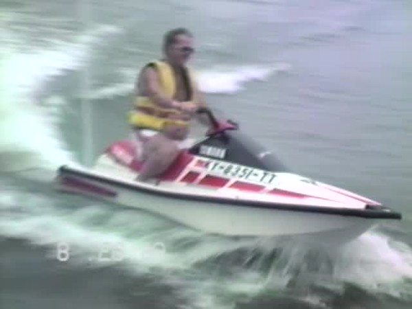 Rough River jet ski first time out part 2 `1988