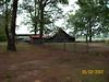 Old barn across the yard from farmhouse