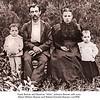 Frank & Attie Brenan & family