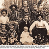 "back row:  Robert Alva Johnson, John Leelon Dandy(Beulah's father), Della & Alice Johnson<br /> Center:  Beulah Ann Dandy Johnson & husband William Alva ""Alvie"" Johnson(children are theirs)<br /> front row:  twins Virgil & Albert and baby Lloyd Johnson  <br /> ca 1908<br /> (Alvie is twin brother to Nancy Alice Johnson Wheeler and brother to Beatrice ""Attie"" Johnson Brenan)"