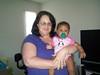 Connie Pasquetti Hodge & granddaughter Izabel(Connie is daughter of Nancy Robertson Pasquetti and granddaughter of Frank & Jeraldine Robertson