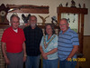 Vernon Robertson, brother-in-law Daryll Schleeter, sister Carol Schleeter & brother Frank Robertson, Jr.
