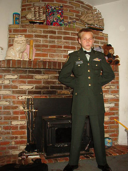 2006? grandson David  Schleeter Jr. in Sacramento(b.d. 12/24/91)<br /> Son of David Schleeter, grandson of Daryll Schleeter
