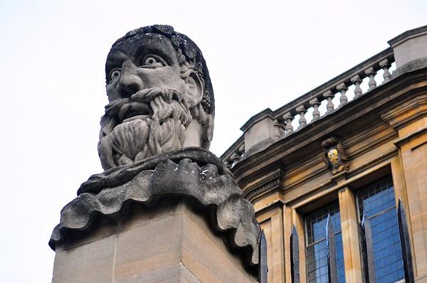 Jesus College at Oxford University (Oxford, England)
