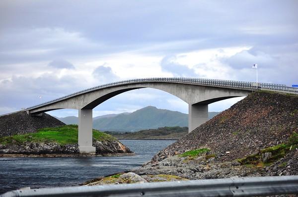 The Atlantic Road (Kristiansund, Norway)
