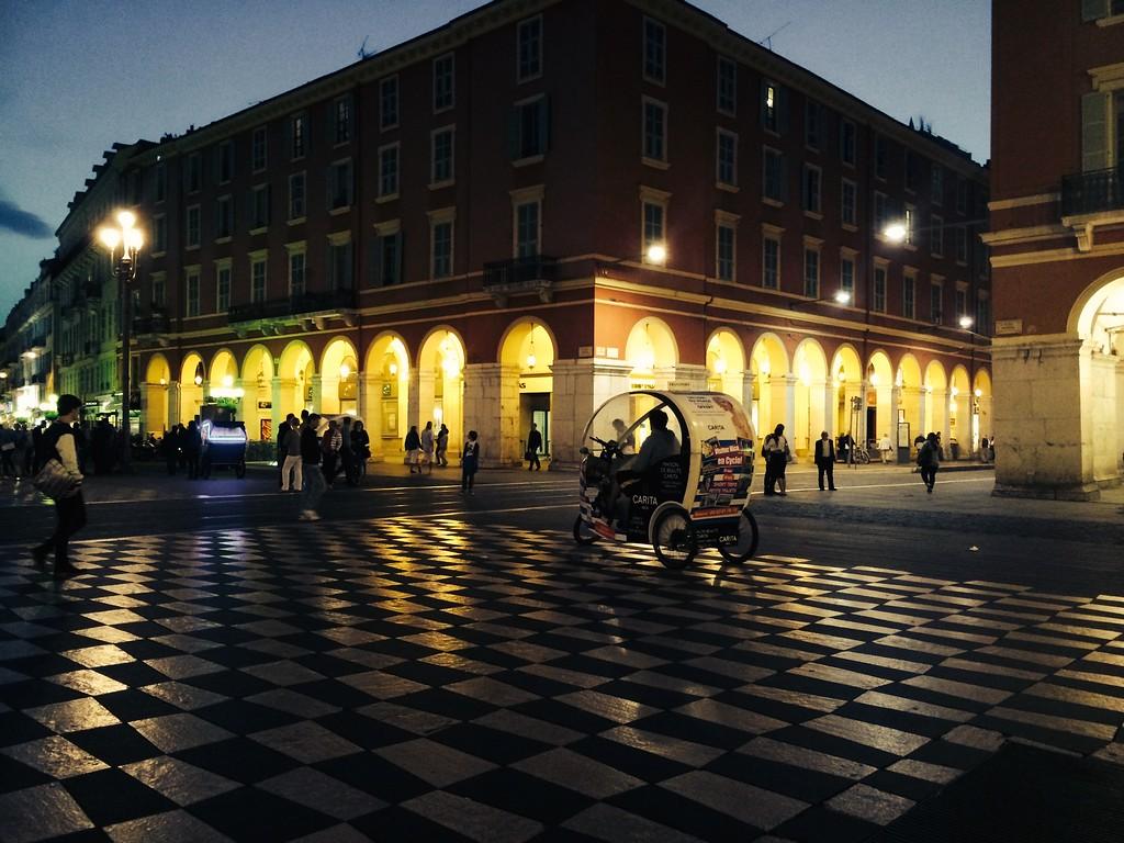 Nice centre, Espace Massena