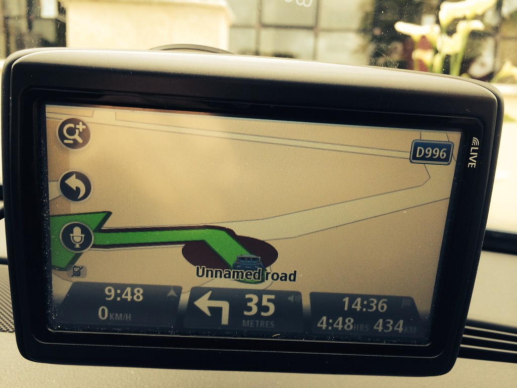 434km to go and nearly 5 hours!