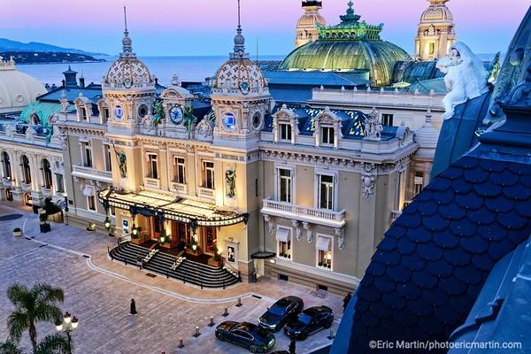 MONACO. Le casino.