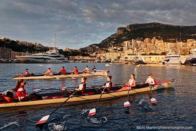 MONACO. Société Nautique de Monaco. Club d'Aviron de la Principauté de Monaco depuis 1888