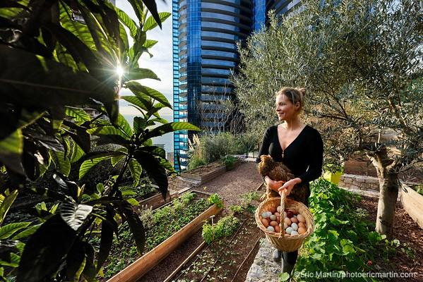 MONACO. Jessica Sbaraglia, fondatrice de Terre de Monaco, transforme les toits de Monaco en potagers