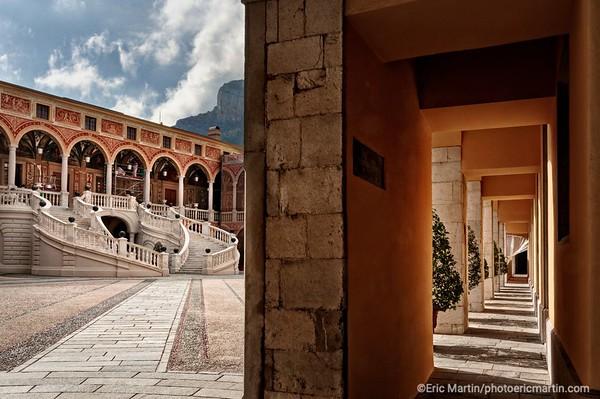 MONACO. Le Palais des Princes de Monaco