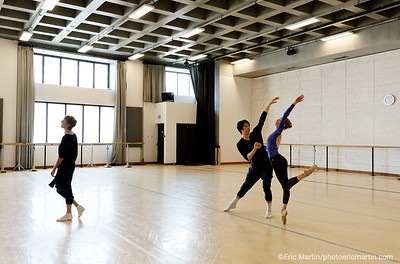 MONACO. Repetitions de la compagnie des Ballets de l'Opera de Monte-Carlo