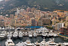 Yachts in the the port of Monaco.