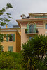 Window and balcony architecture in the Principality of Monaco.