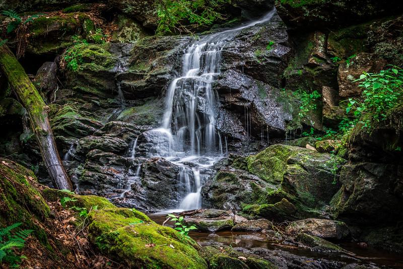 Garwin Falls in July, Wilton NH