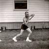 Dale Monaghen, Air National Guard Basic Training at Sheppard AFB, Wichita Falls, Texas. 1957