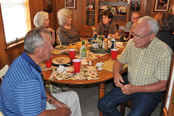 Gathering at Barbara & Bobby's 7.21.2013