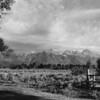 Teton Mountains near Jackson Hole, Wyoming, 1960's