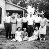 The Lueb family at the farm near Durant, Okla.