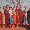 1950's photo of the Lueb family.<br /> First Cousins meet at Uncle Ray Lueb's home in Edmond, Ok 3.16.2013