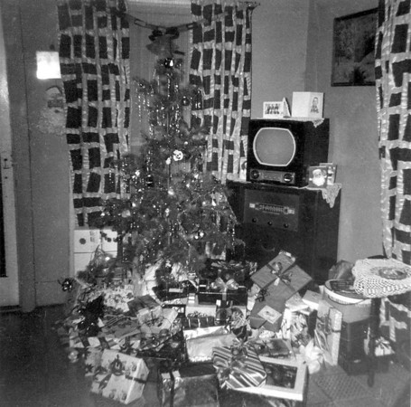 Monaghen Family Christmas 1950's