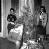Christmas at the Monaghen house 3212 Milton, Dallas Texas, early 1950's. Tom with the guns, Gail Ormond(R) and Dale(kneeling).