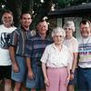 Anna Mae Monaghen and family. Dale, Doug, Tom, Anna Mae, Barbara and Boyd.