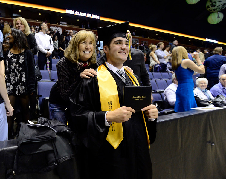 Monarch High School graduation