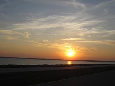 Sunset over Merritt Island. Photo by Jim Lovett