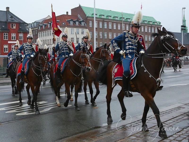 Monachy in Denmark, Royal New year Tradition 2015,  Nytårstaffel 2015