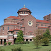 The exterior of the monastery. Taken in November 2003.