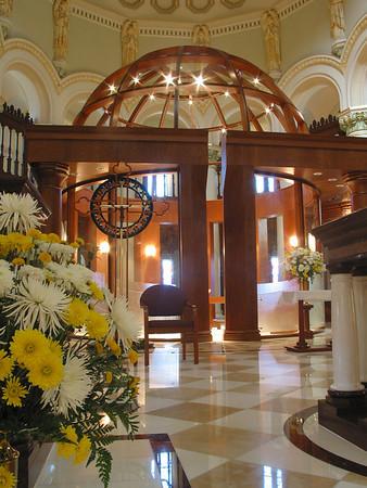 Monastery Church Interior