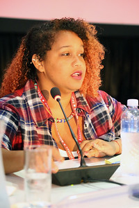 21st International AIDS Conference (AIDS 2016), Durban, South Africa. Monday 18th July 2016, VENUE : Global Village - Room 1 GV MEET THE EXPERTS : GETTING A SEAT AT THE TABLE : YOUNG LEADERS SHARE THE HIGHS AND LOWS OF LEADERSHIP AND ACCOUNTABILITY (MOGS01) Speaker : L'Orangelis Thomas Negron (Puerto Rico) Photo©International AIDS Society/Abhi Indrarajan