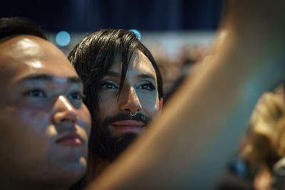 22nd International AIDS Conference (AIDS 2018) Amsterdam, Netherlands.   Copyright: Matthijs Immink/IAS  Opening ceremony  Photo shows: Conchita