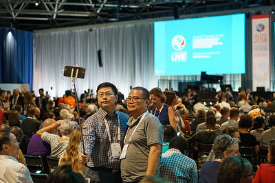 22nd International AIDS Conference (AIDS 2018) Amsterdam, Netherlands.   Copyright: Matthijs Immink/IAS  Opening ceremony  Photo shows: