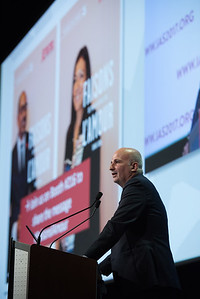 9th IAS Conference on HIV Science (IAS 2017) Paris, France. Copyright: Marcus Rose/IAS  Fast-Track Cities: Ending AIDS in High HIV Burden Cities and Municipalities by 2030 (MOSY05)   Photo shows:Towards an AIDS-free Paris – A Fast-Track City's commitment Bernard Jomier, Mairie de Paris, France