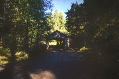 Cedar Creek Covered Bridge, Woodland, Washington