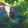 Cedar Creek Grist Mill Sunlight and Shadows